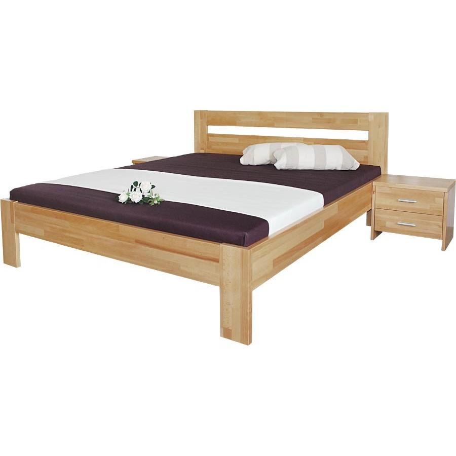 Masivní postel Vitalia - 140 x 200 cm - Moravia Comfort
