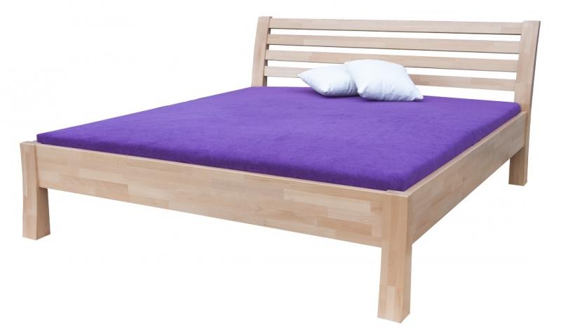 Masivní postel Carla - 140 x 200 cm - Moravia Comfort