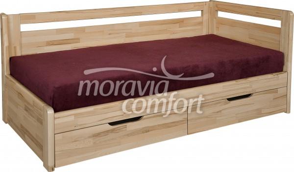 Rozkládací postel Kombi - pravá bočnice - Moravia Comfort
