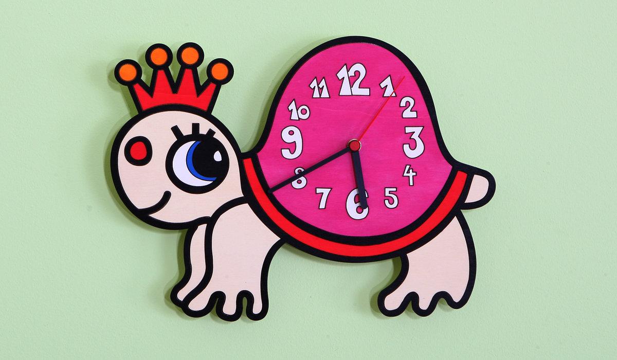 Dětské hodiny želva - hodiny želva - Domestav