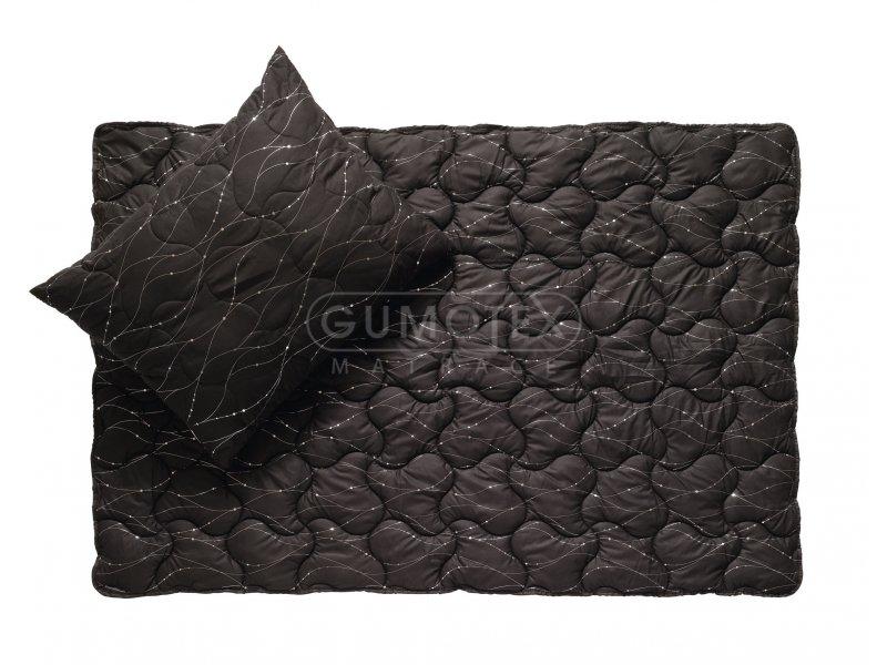 Přikrývka Metallic Black - 140 x 200 cm - Gumotex Moravia Comfort